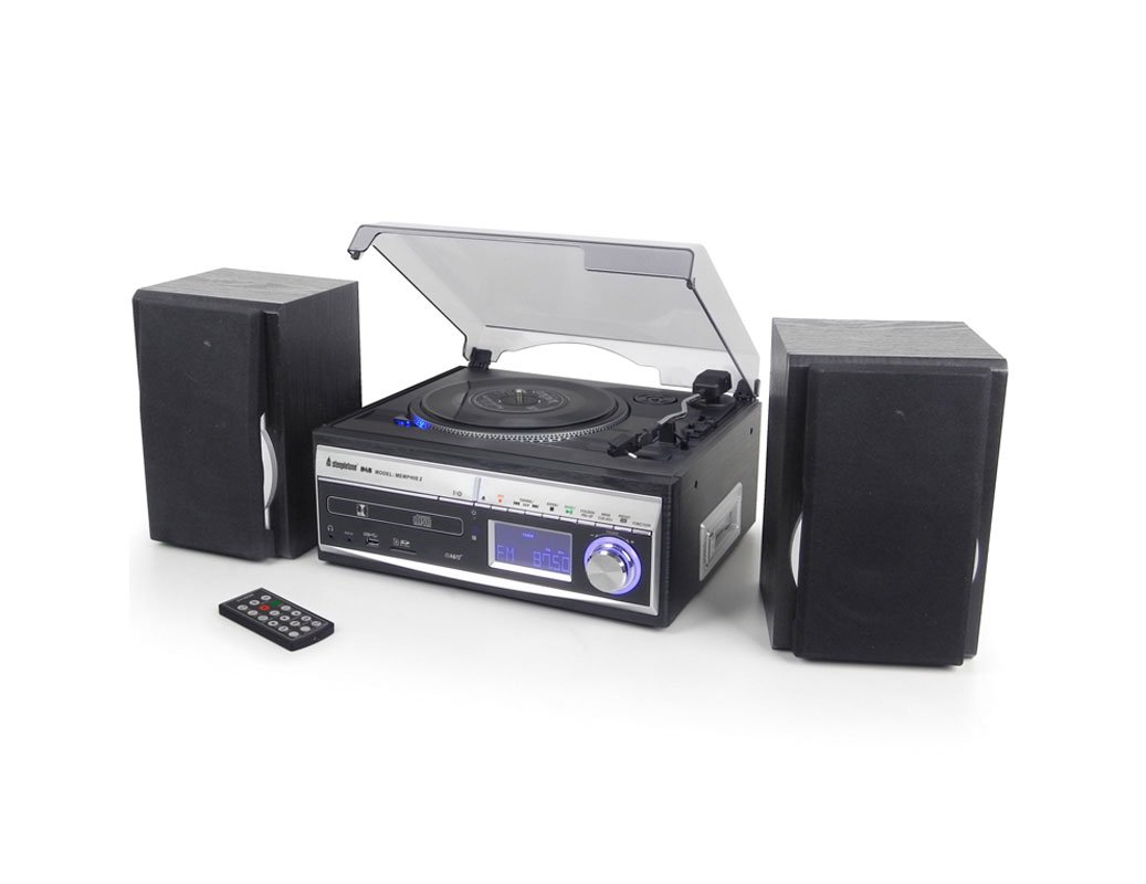 Steepletone Memphis 5 In1 Music Centre With Dab Radio