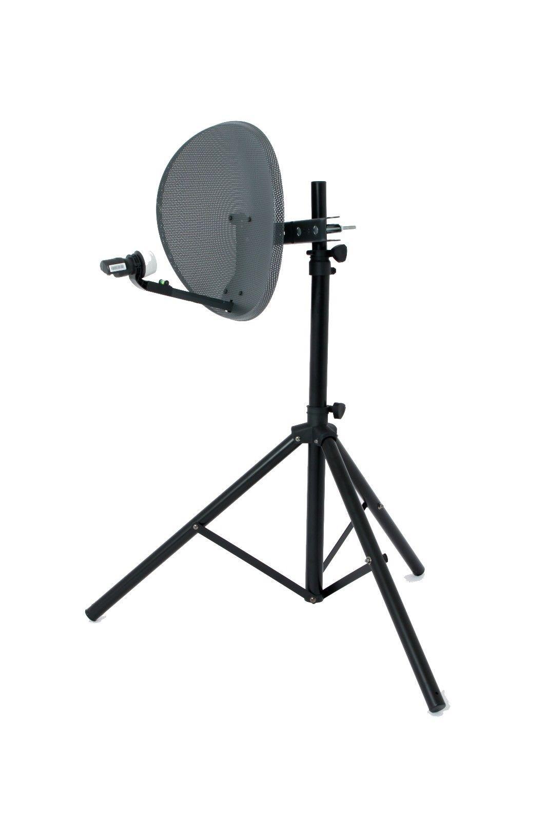 Diy Satellite Dish Tripod Diy Do It Your Self