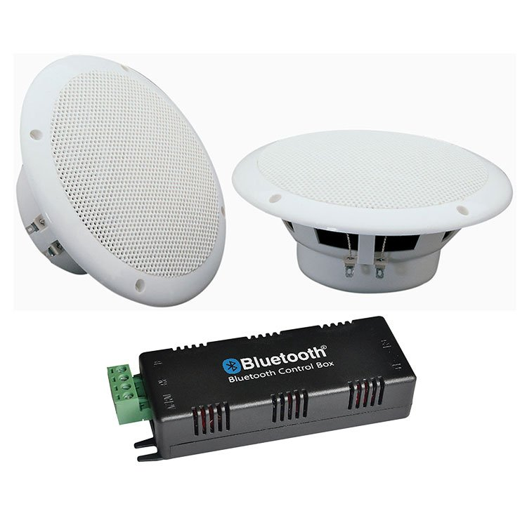 Kitchen Or Bathroom Bluetooth Ceiling Speaker System