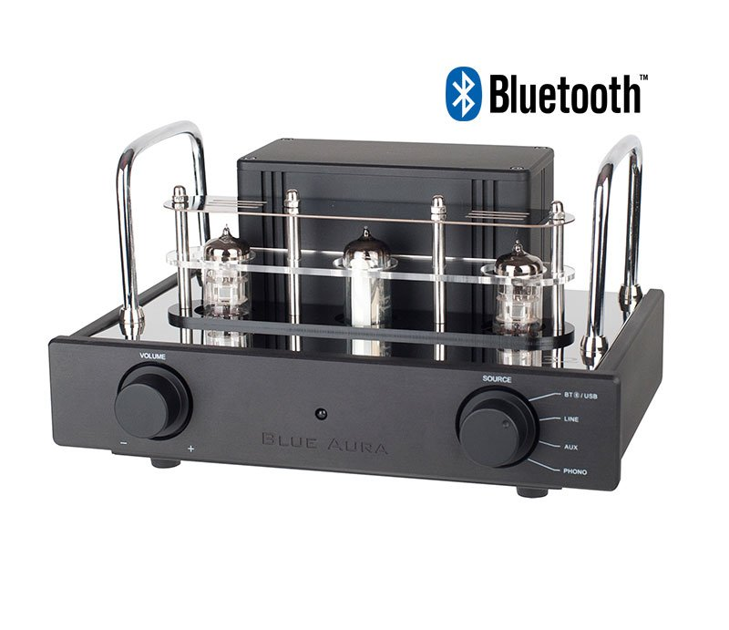 Blue Aura V32 Bluetooth Hybrid Valve Amp with Phono Stage